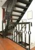 Treppe mit Treppengeländer