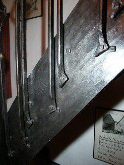 Treppe mit Treppengeländer - Detail