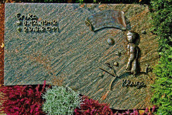 Kleiner Prinz als Grabdenkmal