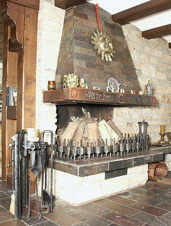 Kamin - Kaminbesteck - Schürrwerkzeug
