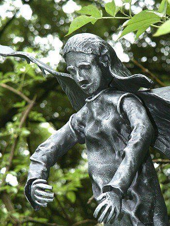 Engel - Engelskulptur - Skulptur - Detail