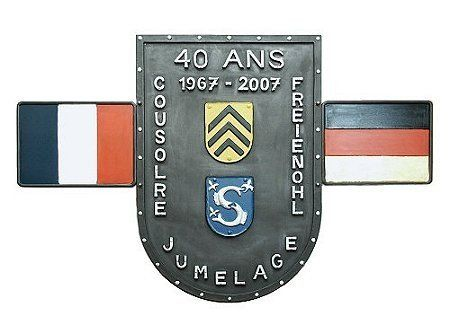 Wappen - Partnerstadt - Freundschaftswappen