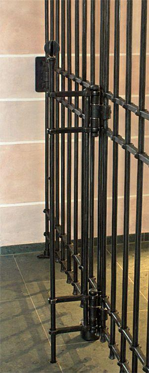Trenngitter - Gitter - Abschlussgitter - beschränkter Zugang