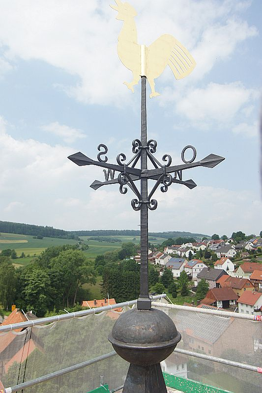 Heisebeck - Kirchturmkreuz - Neuanfertigung
