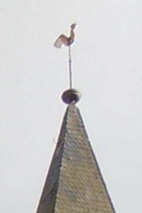 Heisebeck - Kirchturmkreuz - Bestand