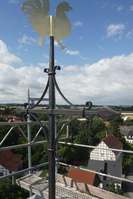 Soest, Meiningsen; Turmkreuz