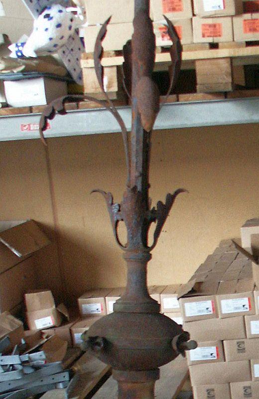 Stele - Restaurierung - Gusseisern - Bestand