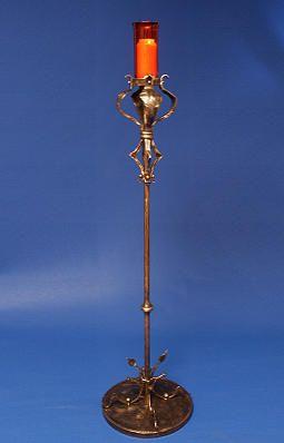 Kerzenleuchter aus Bronze - Ewiglicht