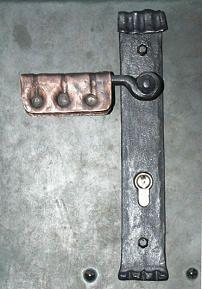 Türgriff mit Kupfer